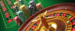 poker table,chips